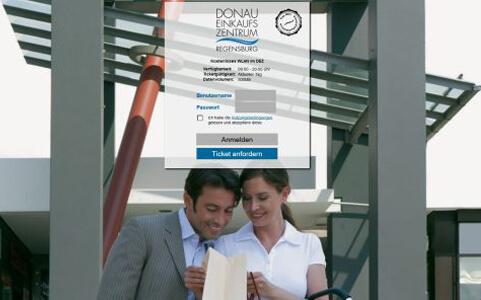 CONTELIO Portal Donau Einkaufszentrum