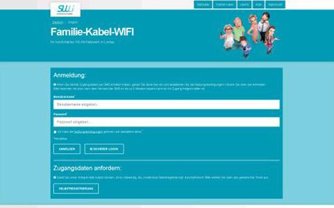 CONTELIO Portal Familie Kabel