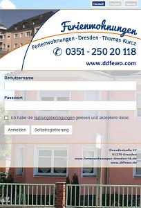 CONTELIO Portal Ferienwohung Dresden Mobil
