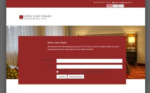 CONTELIO Portal Hotel Stadt Coburg