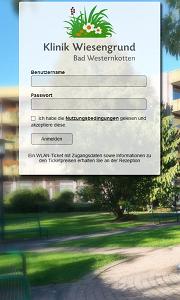 CONTELIO Portal Klinik Wiesengrund Mobil