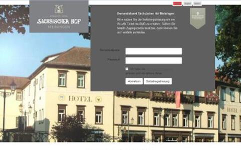 CONTELIO Portal Hotel Sächsischer Hof